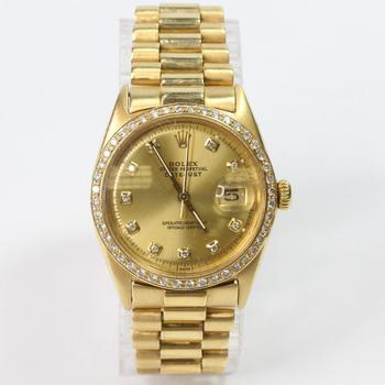 Rolex DateJust 18k Gold Watch - Evaluated By Independent Specialist
