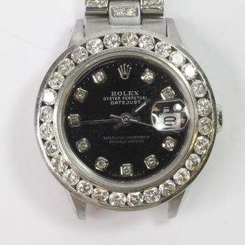 Rolex DateJust Diamond Watch - Evaluated By Independent Specialist