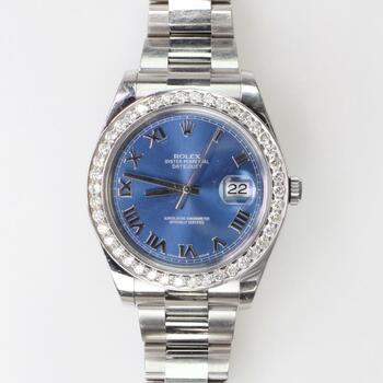 Rolex DateJust II Diamond Watch