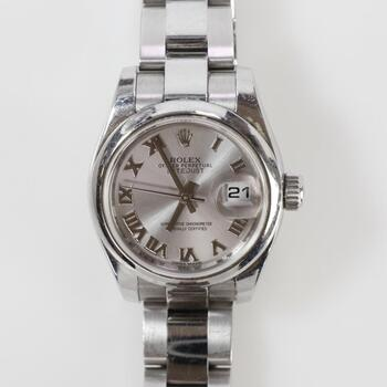 Rolex DateJust Watch - Evaluated By Independent Specialist