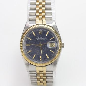 Rolex DateJuste Watch - Evaluated By Independent Specialist