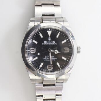 Rolex Explorer Watch- Evaluated By Independent Specialist