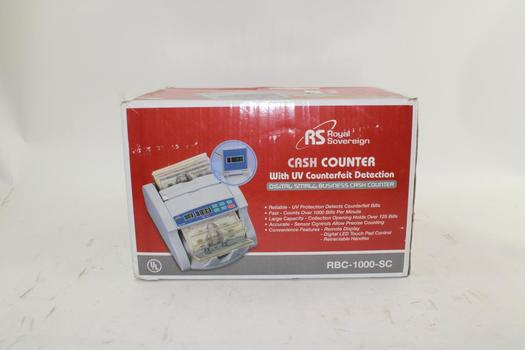 Royal Sovereign Cash Counter