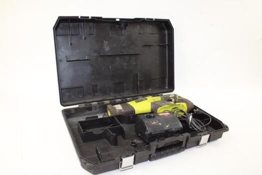 Ryobi 18 Volt Cordless  Reciprocating Saw Bare Tool And Battery Charger