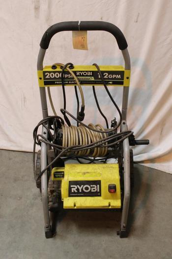 Ryobi 2000 Psi Electric Pressure Washer