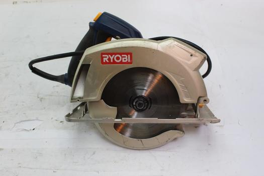 Ryobi 7-1/4'' Circular Saw With Laser