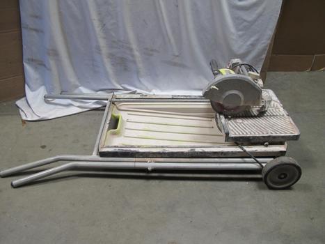 Ryobi Ws750l Portable Tile Saw W/Laser