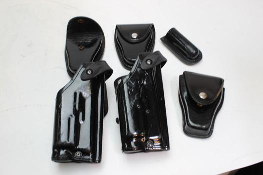 Safariland And Gould & Goodrich Holsters, 6 Pieces