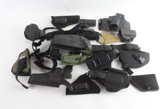 Safariland And Other Sidearm Holsters, 16 Pieces