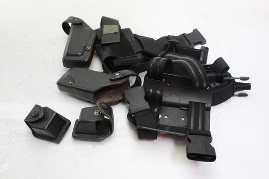 Safariland And Other Unknown Brand Holsters, 6 Pieces