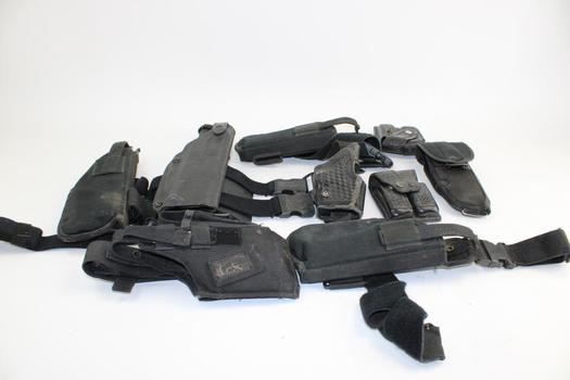 Safariland, Bianchi, & More Assorted Holsters; 7+ Pieces