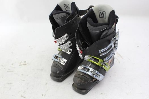Salomon Womens Snow Boots, Size 4