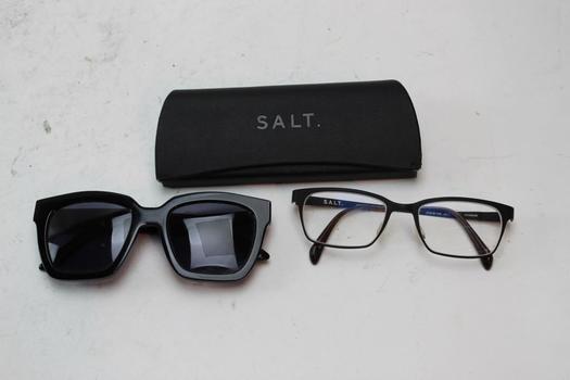Salt, Gentle Monster, Sunglasses And Eyeglasses Bulk Lot,  2 Pieces