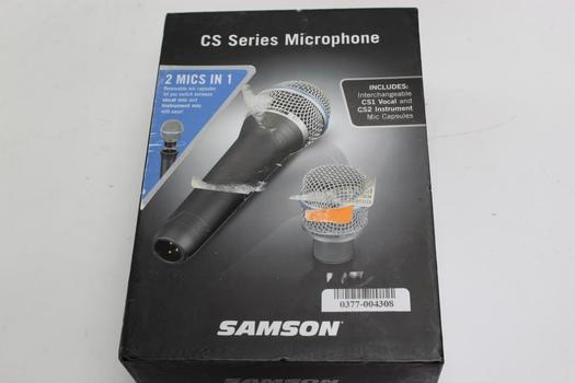 Samson Microphone