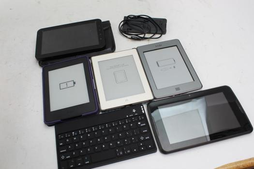 Samsung, Amazon And More Tablets, 6 Pieces