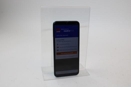 Samsung Galaxy A10e, 32GB, MetroPCS, Google Account Locked, Sold For Parts