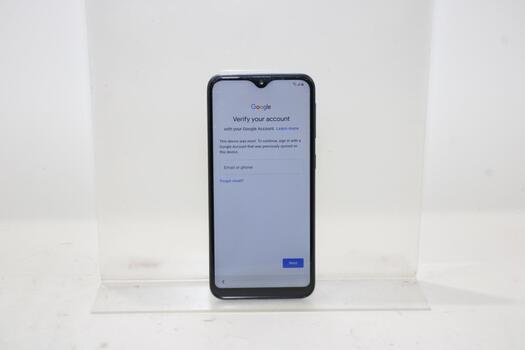 Samsung Galaxy A10e, 32GB, T-Mobile, Google Account Locked, Sold For Parts
