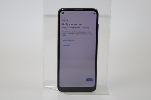 Samsung Galaxy A11, 32GB, Boost Mobile, Google Account Locked, Sold For Parts