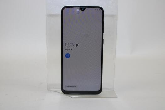 Samsung Galaxy A20, 32GB, TracFone Wireless, Google Account Locked, Sold For Parts