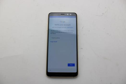 Samsung Galaxy A8, 32GB, SK Telecom, Google Account Locked, Sold For Parts