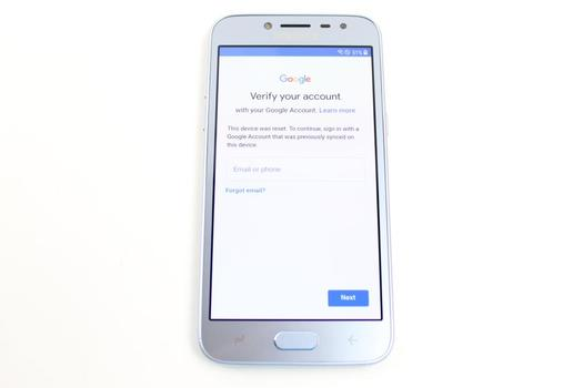 Samsung Galaxy J2 Pro, 16GB, Kolbi, Google Account Locked, Sold For Parts