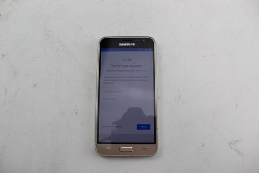 Samsung Galaxy J3, 16GB, Virgin Mobile, Google Account Locked, Sold For Parts