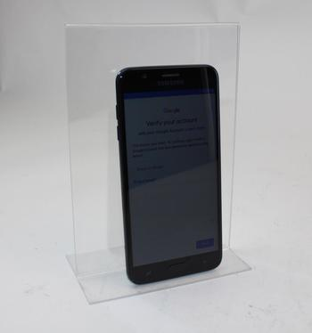 Samsung Galaxy J7 Crown, 16GB, TracFone Wireless, Google Account Locked, Sold For Parts