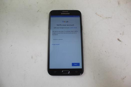 Samsung Galaxy J7 Prime, 16GB, MetroPCS, Google Account Locked, Sold For Parts