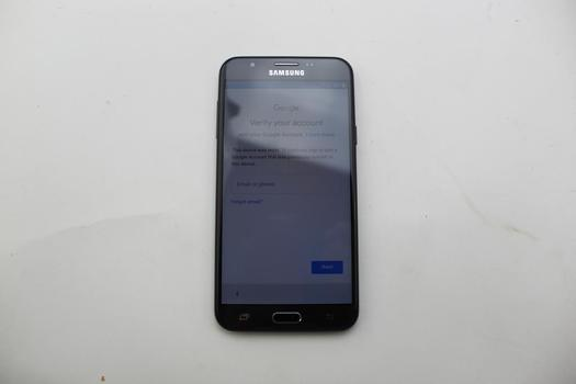 Samsung Galaxy J7 Prime, 32GB, MetroPCS, Google Account Locked, Sold For Parts