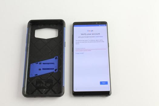 Samsung Galaxy Note 8, Google Account Locked, Sold For Parts