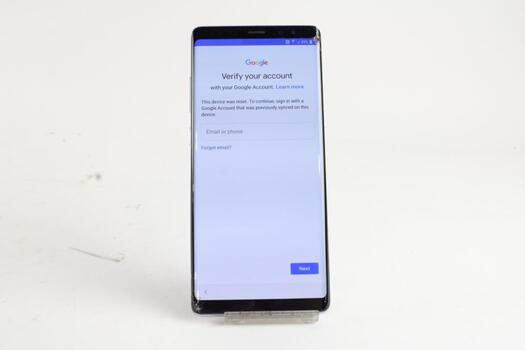 Samsung Galaxy Note 8 , Google Account Locked, Sold For Parts