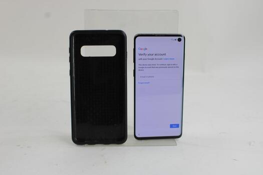 Samsung Galaxy S10, 128GB, T-Mobile, Google Account Locked, Sold For Parts