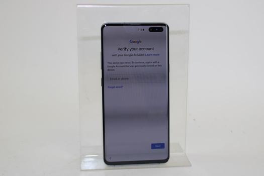 Samsung Galaxy S10 5G, 256GB, Verizon, Google Account Locked, Sold For Parts