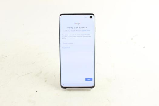 Samsung Galaxy S10 , Google Account Locked, Sold For Parts