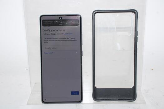 Samsung Galaxy S10 Lite, 128GB, Unknown Carrier, Google Account Locked, Sold For Parts