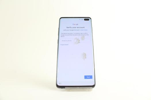 Samsung Galaxy S10 Plus,  Google Account Locked, Sold For Parts