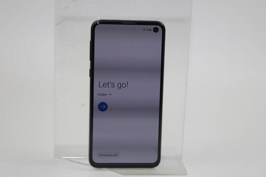 Samsung Galaxy S10e, 128GB, T-Mobile, Google Account Locked, Sold For Parts