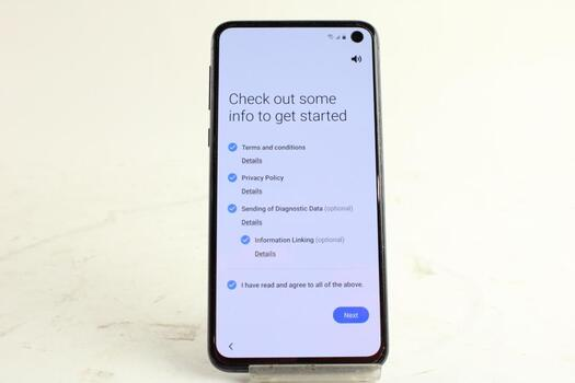 Samsung Galaxy S10e, Google Account Locked, Sold For Parts