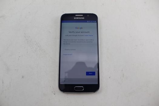 Samsung Galaxy S6, 32GB, MetroPCS, Google Account Locked, Sold For Parts