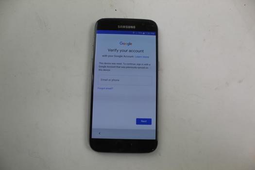 Samsung Galaxy S7, 32GB, Verizon, Google Account Locked, Sold For Parts