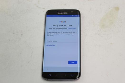 Samsung Galaxy S7 Edge, 32GB, Sprint, Google Account Locked, Sold For Parts
