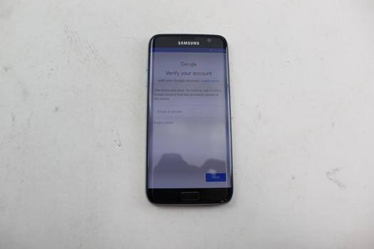 Samsung Galaxy S7 Edge, 32GB, Sprint, Google Account Locked, Sold For Parts