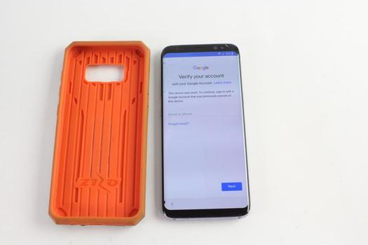Samsung Galaxy S8, Google Account Locked, Sold For Parts
