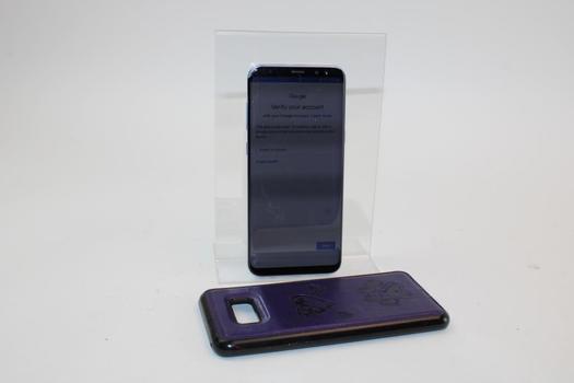 Samsung Galaxy S8 Plus, 64GB, Verizon, Google Account Locked, Sold For Parts