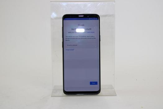 Samsung Galaxy S9+, 64GB, AT&T, Google Account Locked, Sold For Parts