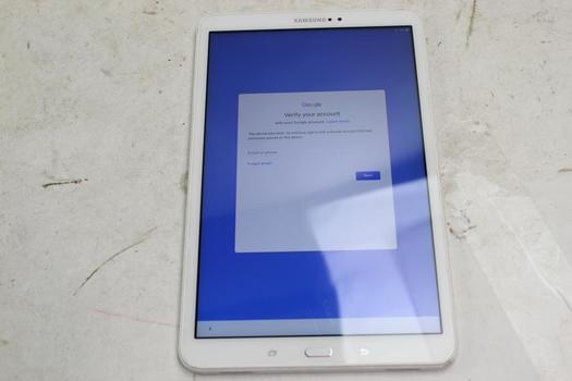 Samsung Galaxy Tab A 10.1, 16GB, Wi-Fi Only, Google Account Locked, Sold For Parts