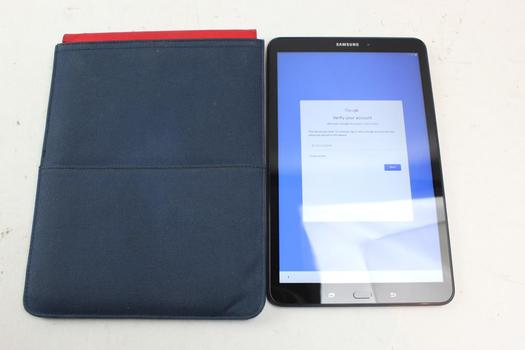 Samsung Galaxy Tab A 10.1, 16GB, Wi-Fi Only, Google Locked, Sold For Parts
