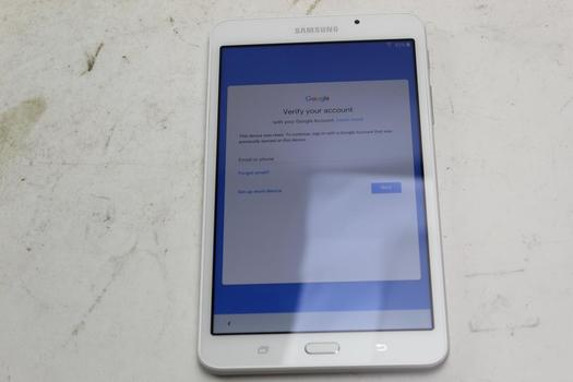 Samsung Galaxy Tab A 7.0, 8GB, Wi-Fi Only, Google Account Locked, Sold For Parts