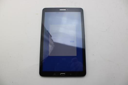 Samsung Galaxy Tab E 9.6, 16GB, Wi-Fi Only, Google Locked, Sold For Parts