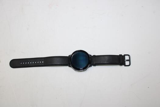 Samsung Galaxy Watch Actrive 2 (LTE), 44mm Stainless Steel Case, Black Band (Size M/L)